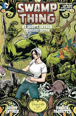 Swamp Thing By Scott Snyder Deluxe Edition (Hardback)