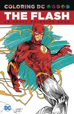 Flash: An Adult Coloring Book (Paperback)