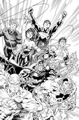Justice League An Adult Coloring Book (Paperback)