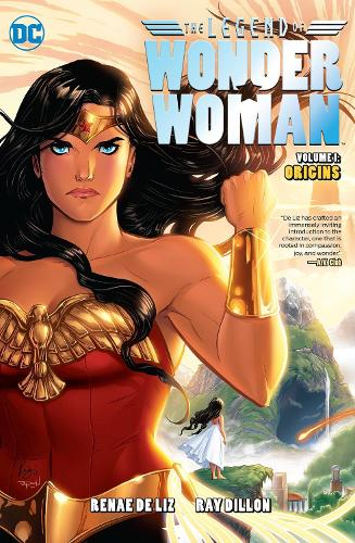 The Legend Of Wonder Woman Origins (Paperback)