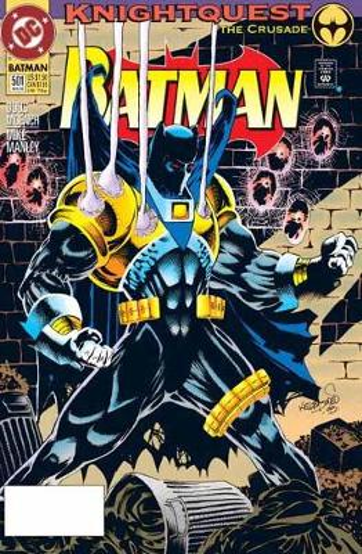 Batman Knightfall Omnibus Vol. 2 Knightquest (Hardback)