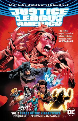 Justice League of America Vol. 2: Curse of the Kingbutcher (Rebirth) (Paperback)