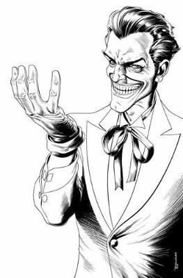 The Joker An Adult Coloring Book (Paperback)