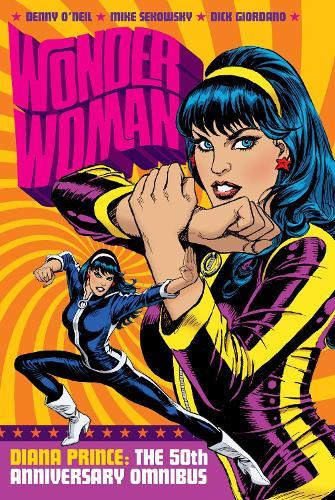 Wonder Woman, Diana Prince Omnibus: 50th Anniversary (Hardback)