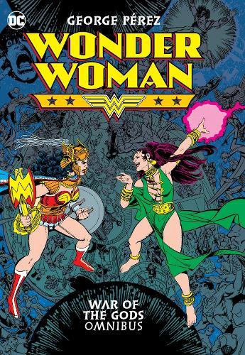 Wonder Woman: War of Gods Omnibus (Hardback)