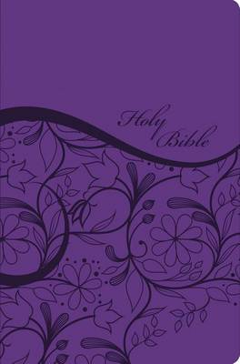 KJV, Sisters in Faith Holy Bible, Leathersoft, Purple (Leather / fine binding)