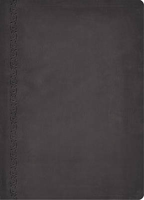 NKJV, The MacArthur Study Bible, Leathersoft, Gray, Indexed: Revised and   Updated Edition (Leather / fine binding)