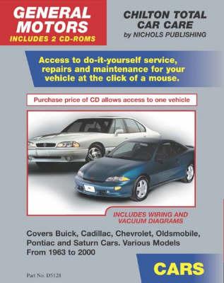 Consumer CD-Gm Cars 1963-2000 (CD-ROM)