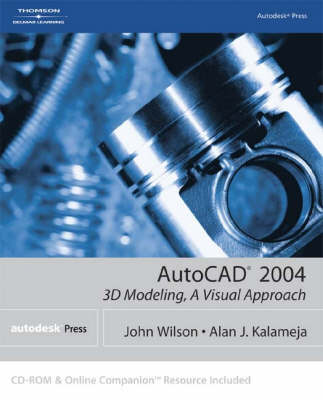AutoCAD 2004: 3D Modeling, a Visual Approach (Paperback)