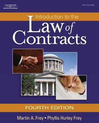Introduction to the Law of Contracts (Hardback)