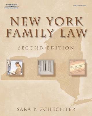 New York Family Law (Paperback)