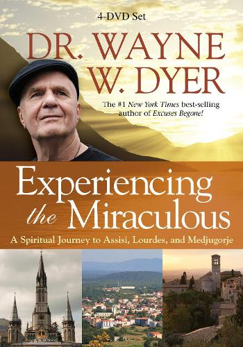 Experiencing the Miraculous: A Spiritual Journey to Assisi, Lourdes, andMedjugorje (DVD video)