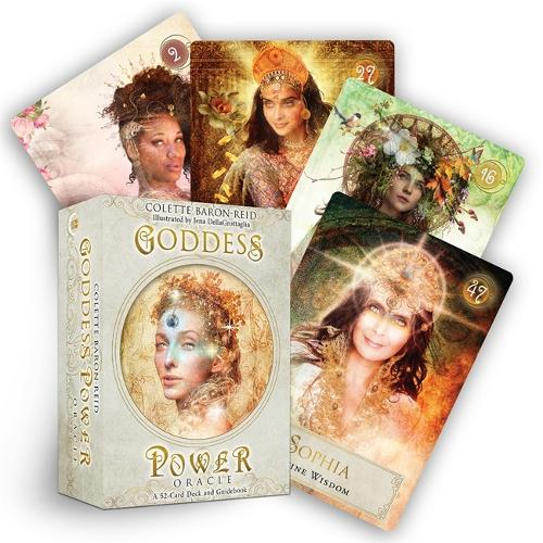 Goddess Power Oracle (Deluxe Keepsake Edition): Deck and Guidebook