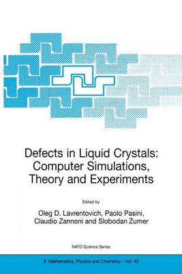 Defects in Liquid Crystals: Computer Simulations, Theory and Experiments - NATO Science Series II 43 (Paperback)