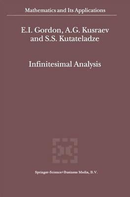 Infinitesimal Analysis - Mathematics and Its Applications 544 (Hardback)