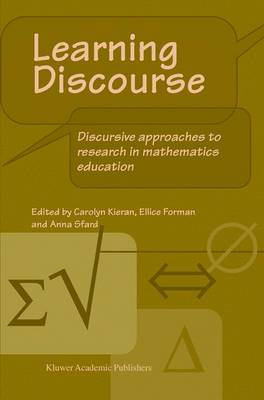 Learning Discourse: Discursive approaches to research in mathematics education (Hardback)