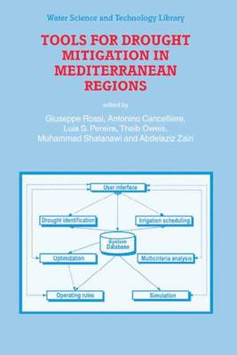 Tools for Drought Mitigation in Mediterranean Regions - Water Science and Technology Library v. 44 (Hardback)