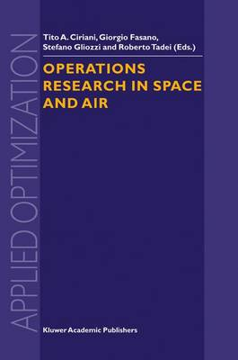 Operations Research in Space and Air - Applied Optimization 79 (Hardback)