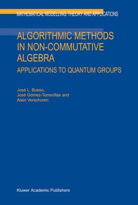 Algorithmic Methods in Non-Commutative Algebra: Applications to Quantum Groups - Mathematical Modelling: Theory and Applications 17 (Hardback)