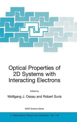 Optical Properties of 2D Systems with Interacting Electrons - NATO Science Series II 119 (Hardback)