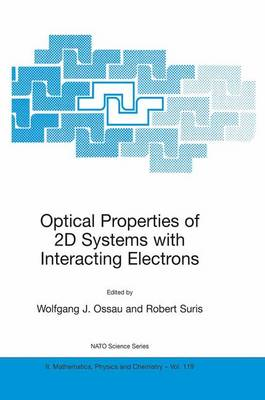 Optical Properties of 2D Systems with Interacting Electrons - NATO Science Series II 119 (Paperback)