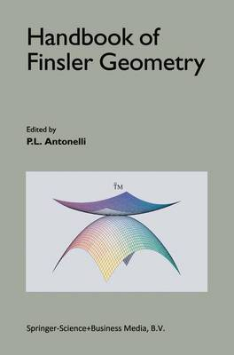 Handbook of Finsler Geometry (Hardback)