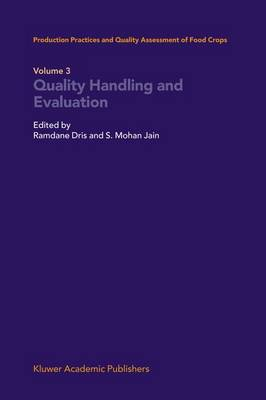 Quality Handling and Evaluation (Hardback)