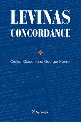 Levinas Concordance (Hardback)