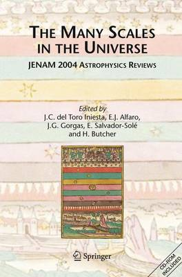 The Many Scales in the Universe: JENAM 2004 Astrophysics Reviews (Hardback)