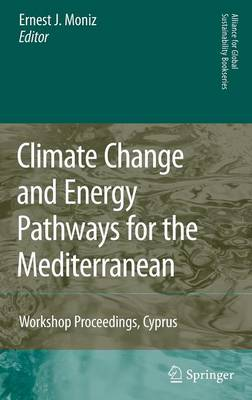 Climate Change and Energy Pathways for the Mediterranean: Climate Change and Energy Pathways for the Mediterranean Preliminary Entry 1002 - Alliance for Global Sustainability Bookseries 15 (Hardback)