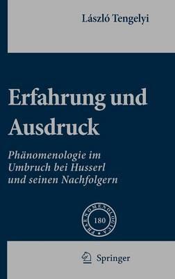 Erfahrung Und Ausdruck: Phanomenologie Im Umbruch Bei Husserl Und Seinen Nachfolgern (Hardback)