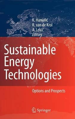 Sustainable Energy Technologies: Options and Prospects (Hardback)