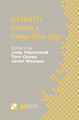 Usability: Gaining a Competitive Edge - IFIP Advances in Information and Communication Technology 99 (Hardback)