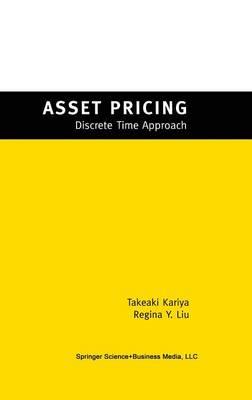 Asset Pricing: -Discrete Time Approach- (Hardback)