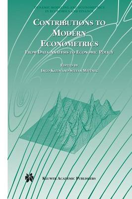 Contributions to Modern Econometrics: From Data Analysis to Economic Policy - Dynamic Modeling and Econometrics in Economics and Finance 4 (Hardback)