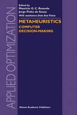 Metaheuristics: Computer Decision-Making - Applied Optimization 86 (Hardback)