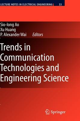 Trends in Communication Technologies and Engineering Science - Lecture Notes in Electrical Engineering 33 (Hardback)