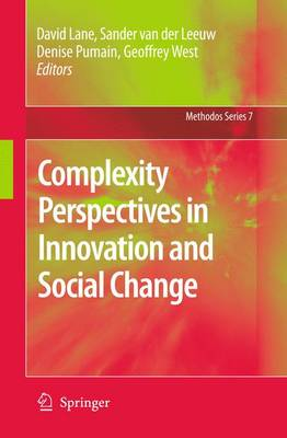 Complexity Perspectives in Innovation and Social Change - Methodos Series 7 (Hardback)