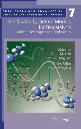 Multi-scale Quantum Models for Biocatalysis: Modern Techniques and Applications - Challenges and Advances in Computational Chemistry and Physics 7 (Hardback)