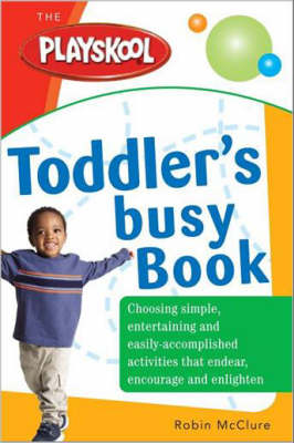 Playskool Toddler's Busy Book (Paperback)