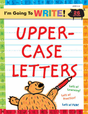 Uppercase Letters - I'm Going to Write Workbook S. (Paperback)
