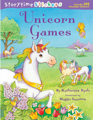 Unicorn Games - Storytime Stickers (Paperback)