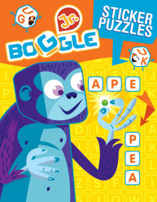 Boggle Jr. Sticker Word Puzzles (Paperback)