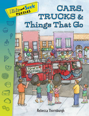 Hide-and-seek Puzzles: Cars, Trucks & Things That Go (Paperback)