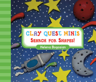 Clay Quest Minis: Search for Shapes! (Board book)