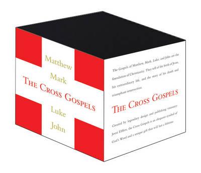 The Cross Gospels: Mathew, Mark, Luke, John (Leather / fine binding)