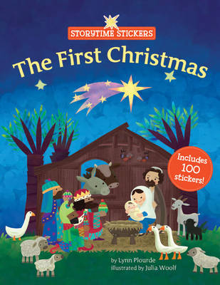 The First Christmas - Storytime Stickers (Paperback)