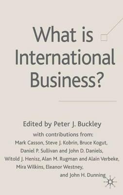 What is International Business? (Hardback)