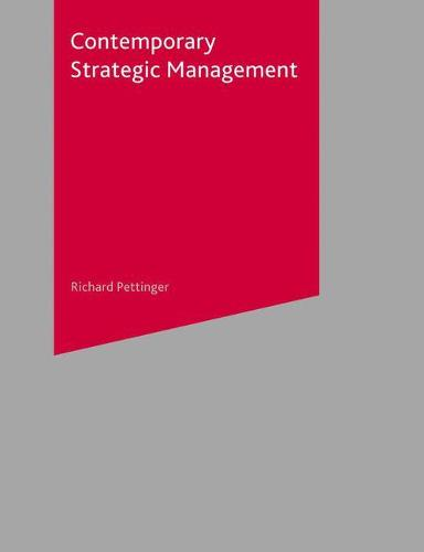 Contemporary Strategic Management (Paperback)