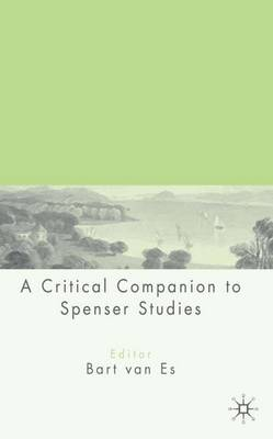 Cover of the book, A Critical Companion to Spenser Studies.